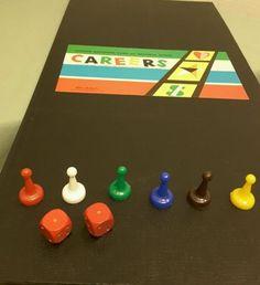 "1958 Board Game ""Careers"""