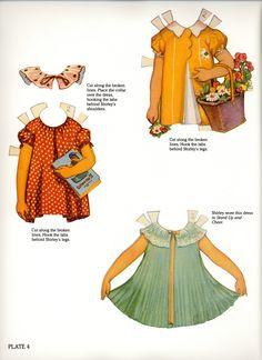 Bonecas de Papel: Shirley Temple