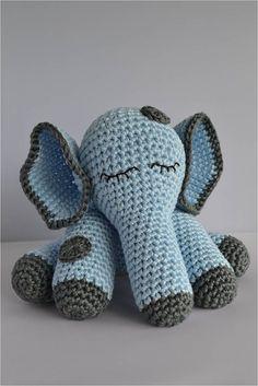 Nederlands haakpatroon olifant