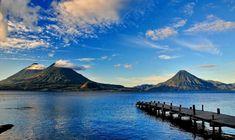 Atitlán-tó Hawaii, Honduras, Belize, Mount Rainier, Scenery, Mountains, Nature, Travel, Fotografia