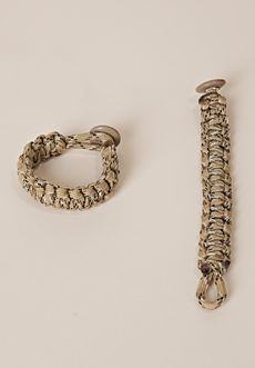 Homecoming Trunk Shows - This is our signature survival band that is woven from 550 military parachute rigging cord right here in the USA.  Wear to show support for our troops at home & abroad.  Every band purchased helps supplement the income of the active duty & retired military personnel making them.  A portion of every band sold is donated to Navy Marine Corp Relief Society. XL - 8.5 L - 8.0 M - 7.5 S - 7.0