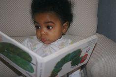 Reading with attitude.