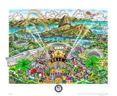 NBC Fazzino Limited Editiion LONDON CITY pin for 2012 Olympics-New in Tin!