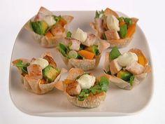 Tilapia Fish Tacos with Arugula Recipe : Giada De Laurentiis : Food Network