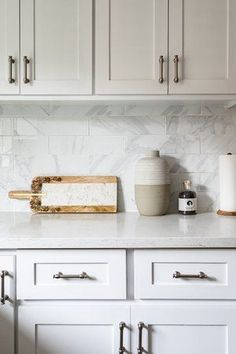 In terms of kitchen countertop options, there's never been a better time to remodel or build your dream kitchen. Today's choices are seemingly endless; from engineered stone to limestone to laminate countertops, there's something for all budgets, taste preferences and maintenance styles. Read on to discover what might best suit your needs. #hunkerhome #kitchen #kitchencountertop #kitchenideas #countertopideas #kitchencounters Kitchen Countertop Options, Laminate Countertops, Kitchen Cabinets, Engineered Stone, Choices, Kitchens, Suit, House, Home Decor