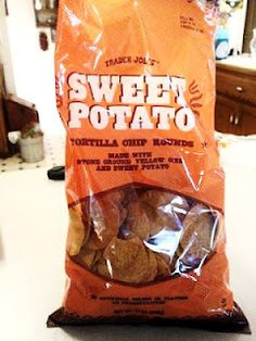 Trader Joes Sweet Potato Corn Tortilla Chips! Gluten-free