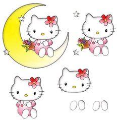 Hello Kitty on the moon