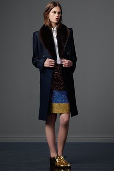 Derek Lam Pre- Fall 2012. Its all about the jacket