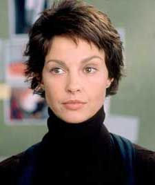 Ashley Judd - I had this hairstyle and l  LOVED it- so easy too !