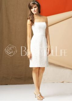 $169.49Simple #Strapless Mini Satin #Wedding Dress Mini Wedding Dresses, Foto Casual, July Wedding, Little White Dresses, Bridal Style, Wedding Events, Weddings, Bridal Gowns, Beautiful Dresses