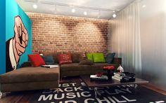 Pop art interior on Behance