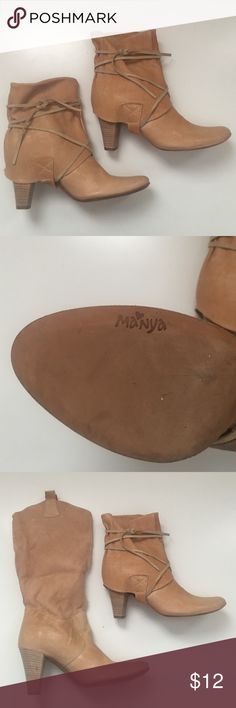 9eec78b903d Italian Leather Boots size 36 Italian Leather boots that can be worn two  ways either up
