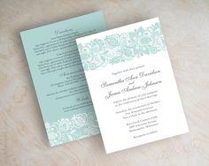 Wedding invitations. Yellow and navy perhaps?