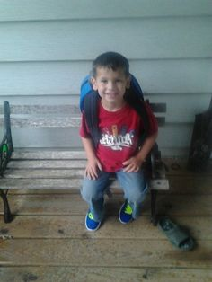 JOEY ready for school