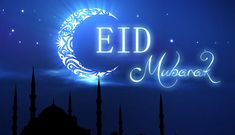 Wishing everyone a blessed #EidMubarak !