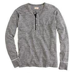 Homespun Knitwear standard henley