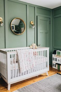 Project Nursery Wit Delight Green And Blush Boho