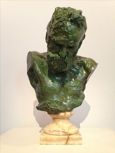 Amazing bronze bust of Victor Hugo made by Auguste Rodin