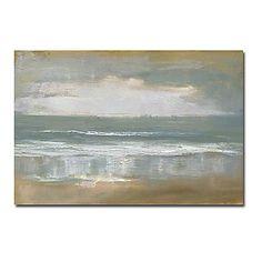 Met de hand geschilderde abstracte olieverf met gestrekte frame 24 x 36 - EUR € 74.24