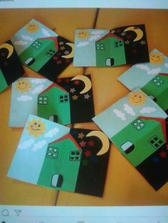 Alıntı Kindergarten Activities, Preschool Crafts, Preschool Activities, Creative Arts And Crafts, Diy And Crafts, Crafts For Kids, Teacher Books, Sistema Solar, Toddler Crafts