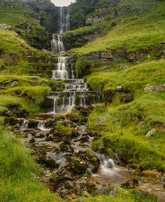 Cray falls, The Yorkshire Dales, England