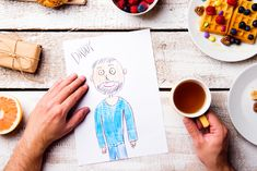 Looking for meaningful ways to celebrate Father's Day? We've got recipes, cooking projects and other activity ideas that will take the dad in your… Shared Folder, Studio Shoot, Wooden Background, Fathers Day Gifts, Activity Ideas, Activities, Adventure, Drawings, Children