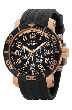 TW Steel Chronograph Watch