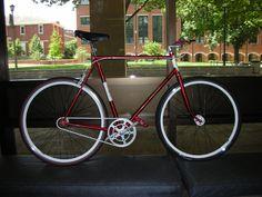 Matt's Conversion - EighthInch Fixed Gear Bike Contest - http://www.facebook.com/EighthInch