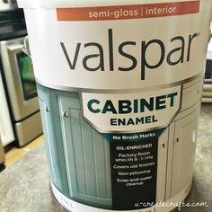 Valspar Cabinet Enamel Paint - remodel bathroom cabinets