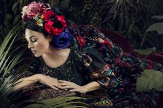 Photographer Signe Vilstrup Monica Bellucci for Harper's Bazaar