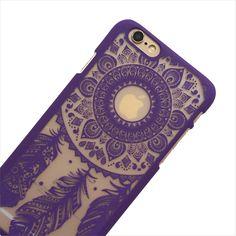Purple Dreamcatcher Phone Case
