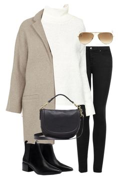 """""""Untitled #2347"""" by oliviaswardrobe ❤ liked on Polyvore featuring Topshop, ASOS, Ray-Ban, Zara and Mulberry"""