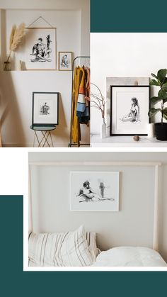 This collection of black and white line art features the body of woman in an elegant and stylish way. An evergreen series for your home decor, with great sensibility and good taste. #artisticprints #blackandwhite #wallartdecor Boho Bedroom Decor, Boho Decor, Black And White Lines, Feminist Art, Watercolor And Ink, Evergreen, Line Art, Wall Art Decor, Gallery Wall