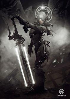 Blessed Weapon by hounworks.deviantart.com on @deviantART