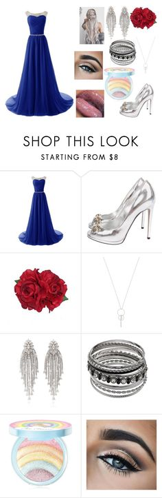 """Prom"" by cjs114 on Polyvore featuring Gucci, Too Faced Cosmetics, Prom, leave and Confidence"