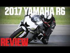 2017 Yamaha YZF-R6 Review - 4K
