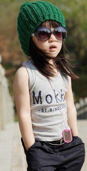 Kid girl fashion