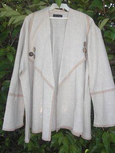 af244de2446 Flared oversized jacket by DMarie1Studio on Etsy Oversized Jacket