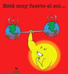 esta fuerte el Sol :)
