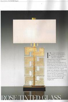 Esha Alta Lamp shown in Gold Dust - Google Search