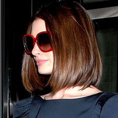 Anne Hathaway Hair Trend Long Bob