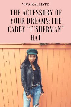 Have you heard? CABBY HATS ARE ALL THE RAGE! Visit my site to see how you can style it up with your own outfits! X