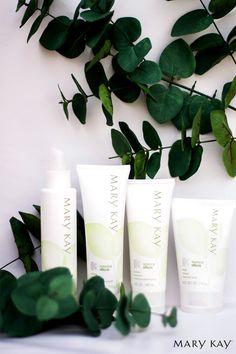 Take your own spa day right at home with Mary Kay® Botanical Effects® Skin Care Four-Piece Set! This simple regimen is infused with the goodness of botanicals that are personalized to your skin type to bring out skin's healthy radiance! | Mary Kay