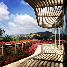 @wltravelerjen The beautiful #view from the cafe at the #GettyCenter. (Taken with instagram)