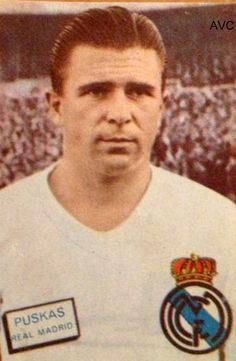 PUSKAS (R. Madrid - 1961) Ed. Fher