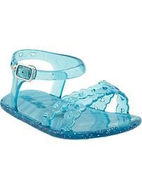 Glitter-Jelly Sandals for Baby, Old Navy