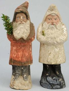 Belsnickle Santas - I have some serious Santa love going on!