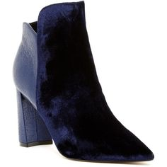 Marc Fisher Harper Velvet Boot (7.130 RUB) ❤ liked on Polyvore featuring shoes, boots, dblfb, marc fisher footwear, marc fisher boots, pointed-toe boots, grip shoes and marc fisher