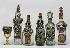 Creepy Bottles by FraterOrion.deviantart.com on @DeviantArt