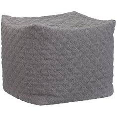 Buy House by John Lewis Diamond Pouffe, Grey Online at johnlewis.com